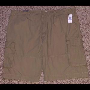 Nautica Big & Tall Shorts, Ripstop Tuscan Tan, 48W